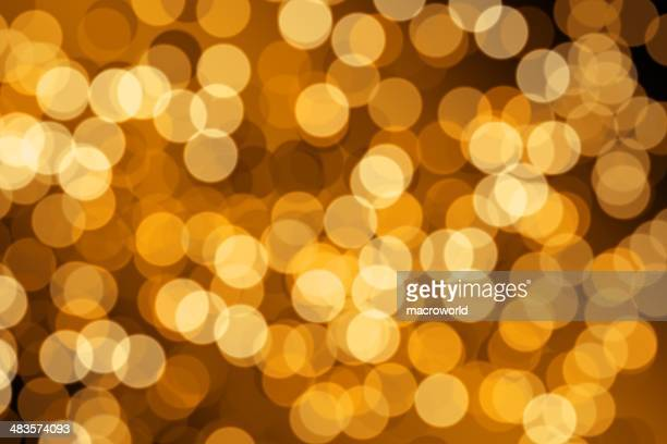 Yellow Defocused (Holiday Background)