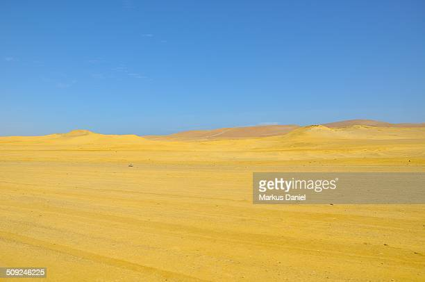 Yellow Desert Sand near Playa Roja (Red Beach)