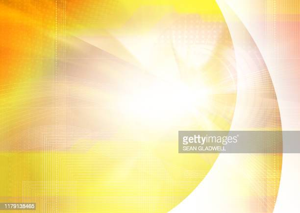 yellow digital backdrop - funky stock pictures, royalty-free photos & images