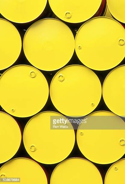 Yellow Drum Containers