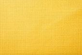 Yellow fabric background