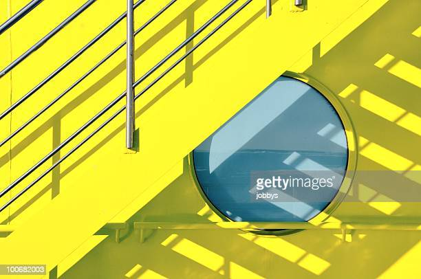 Yellow Ferry Port Hole