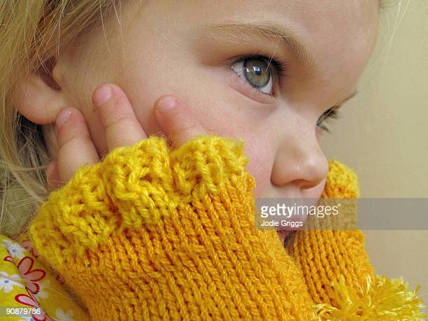 Yellow Finger Warmers