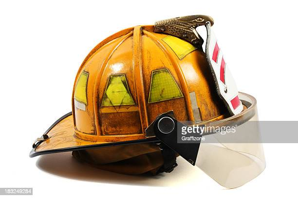 Jaune Casque de pompier