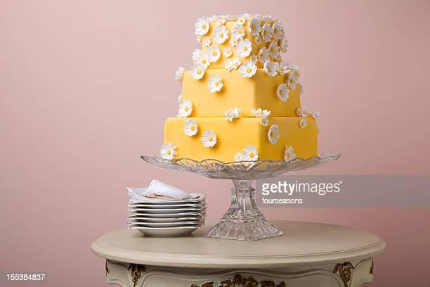 Gâteau FLEUR jaune