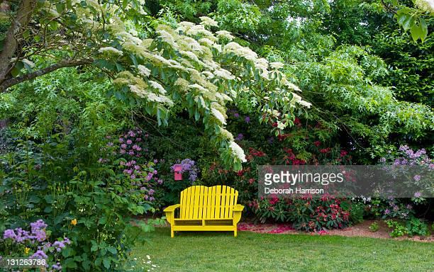 Yellow Garden Seat