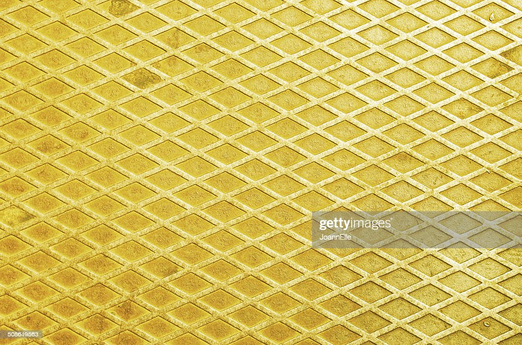 yellow gold metal texture background : Stock Photo