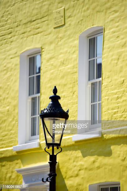 yellow house - sergio amiti stock pictures, royalty-free photos & images