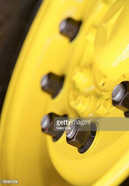 A yellow hub