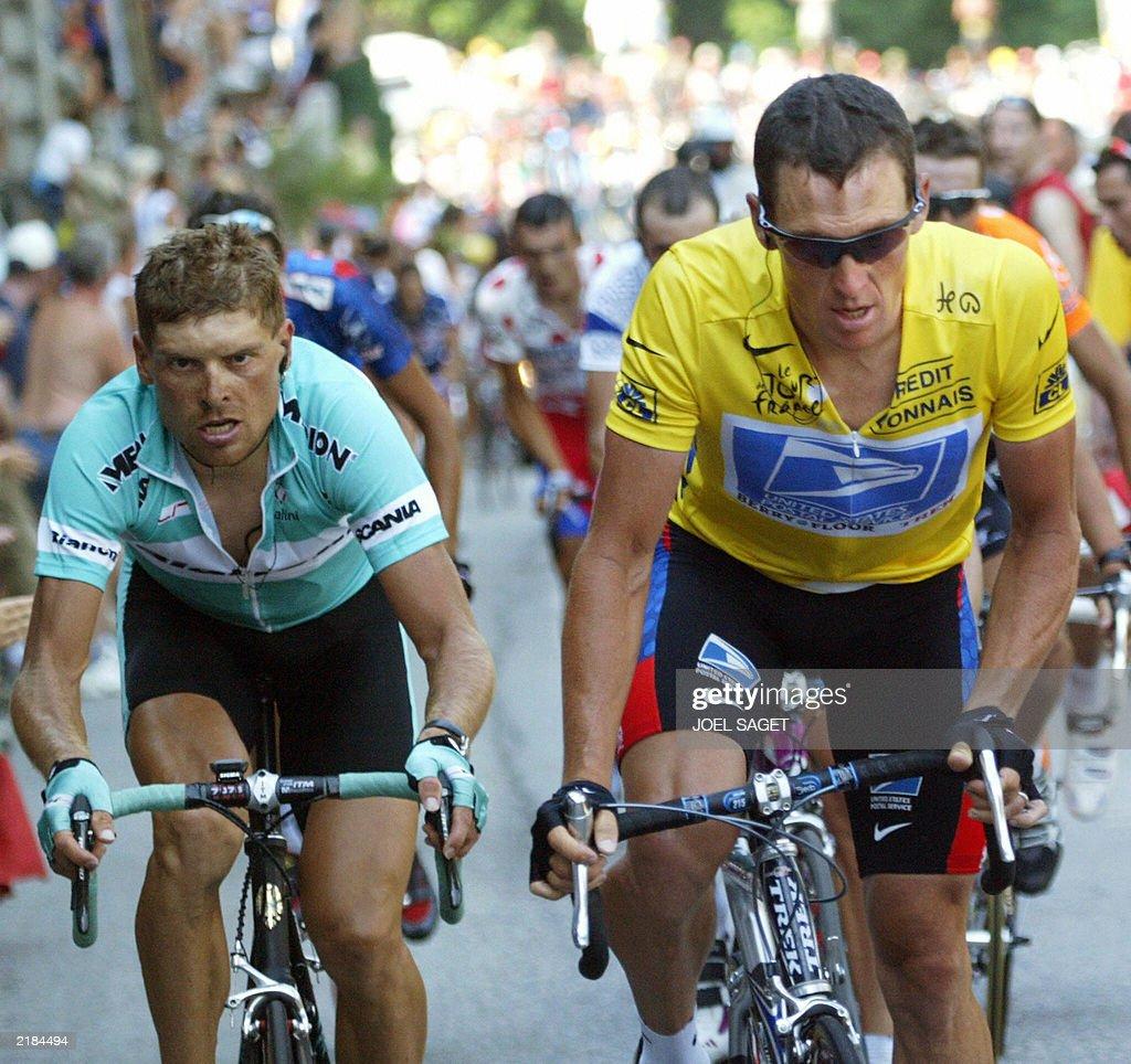 yellow jersey US Lance Armstrong (US Pos : Nachrichtenfoto