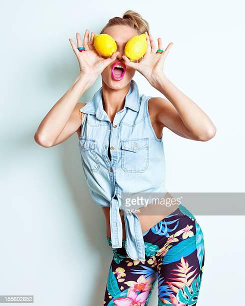 Yellow lemon eyes