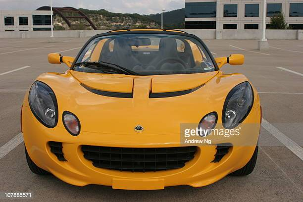 Yellow Lotus Elise, one of the first in the U.S.
