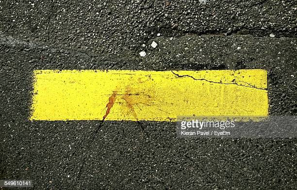Yellow Marking On Road