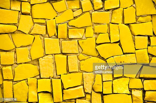 Yellow Mosaic. Color Image