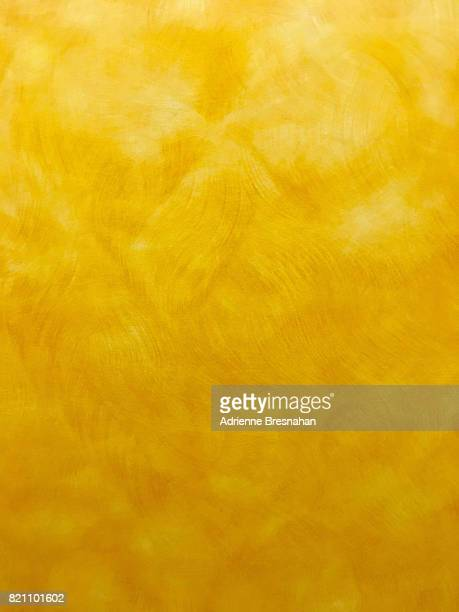 Yellow Painted Wall, Vertical Shot