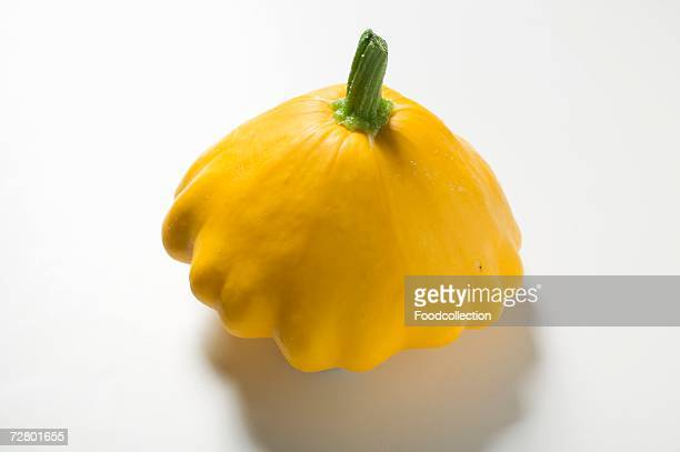 Yellow patty pan squash
