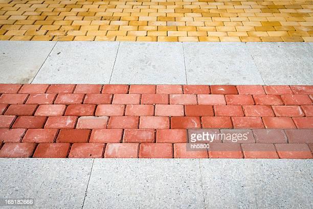 Yellow Red Brick Road