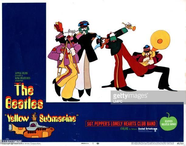 Yellow Submarine poster The Beatles 1968