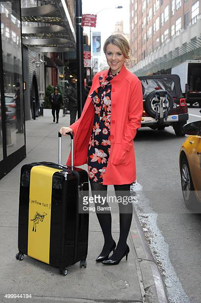 Yellow Tail and TV personality Ali Fedotowsky launches 12 Days Of Giveaways In NYC on December 3 2015 in New York City