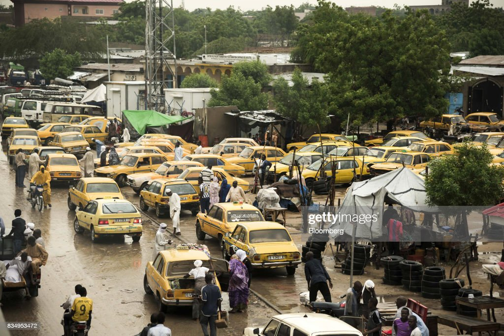 General Economy And City Views In Chadian Capital N'Djamena : News Photo