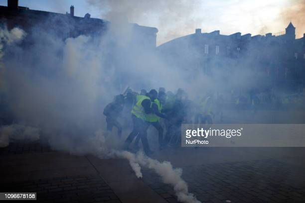 Yellow Vest protesters amid clouds of tear gasAct XIII dubbed 'Civil disobediencequot' of the Yellow Vest movement begun peacefully but the protest...