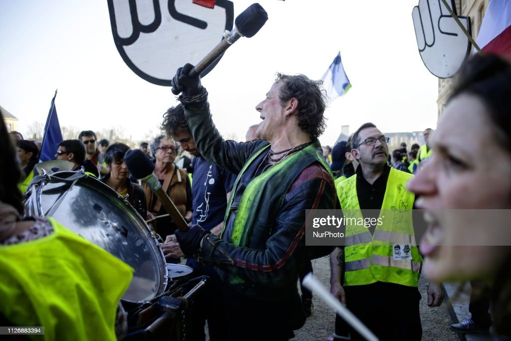 FRA: Act 15 Of Yellow Vests In France