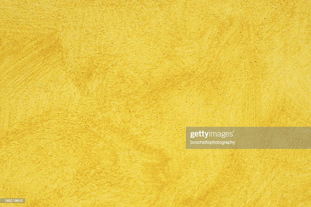 Yellow Wall Background Texture Pattern