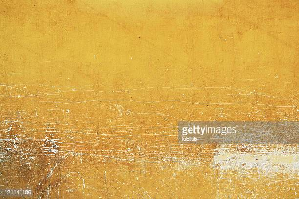yellow wall texture from old town antigua in guatemala - fresco stock pictures, royalty-free photos & images