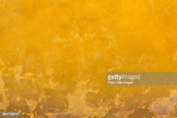 Yellow wall texture in Tuscany