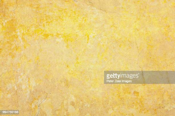 yellow wall texture in tuscany - bad condition stock pictures, royalty-free photos & images