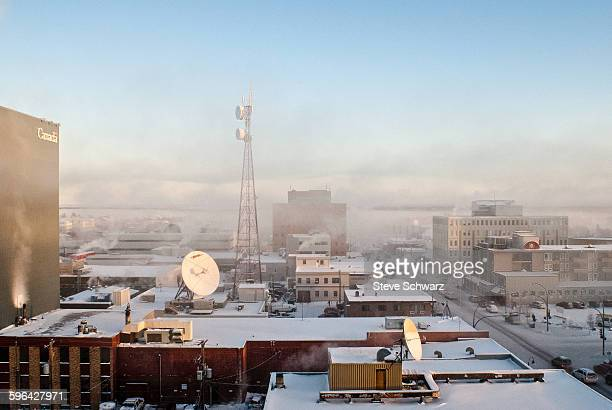 Yellowknife cold Winter
