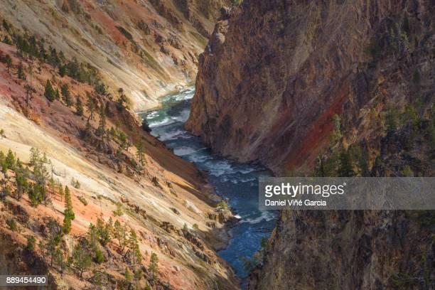 Yellowstone Canyon River