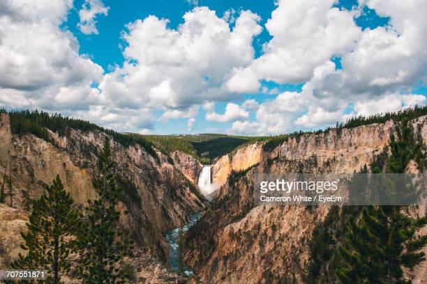 yellowstone national park in summer - yellowstone river stock photos and pictures