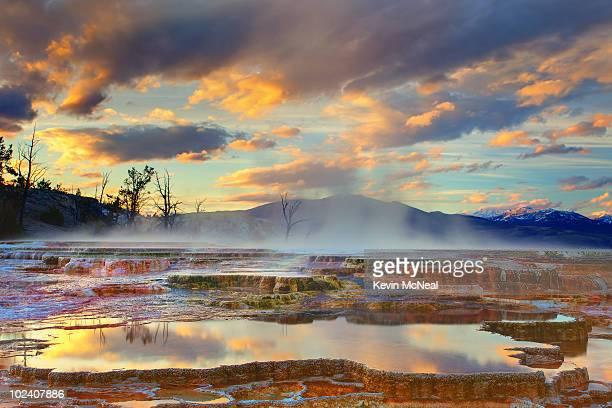 Yellowstone National Park-Mammoth Hot Springs
