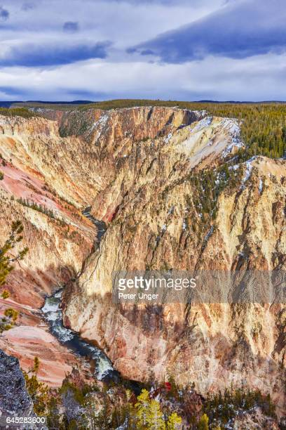 yellowstone national park,wyoming,montana,usa - yellowstone river stock photos and pictures