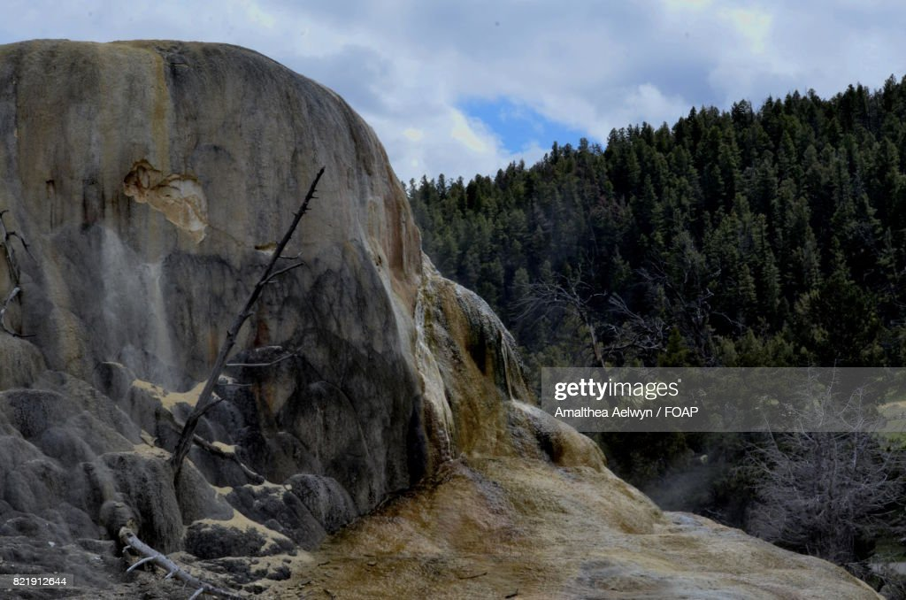 Yellowstone volcanic : Stock Photo