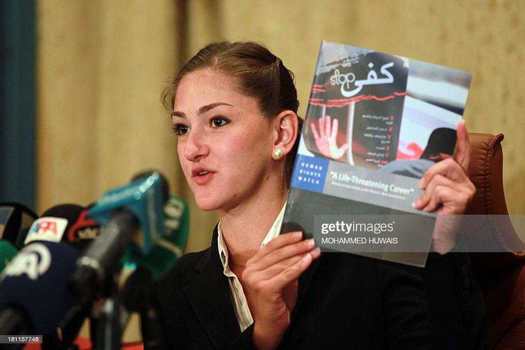 Yemen researcher at Human Rights Watch, Belkis Wille presents a