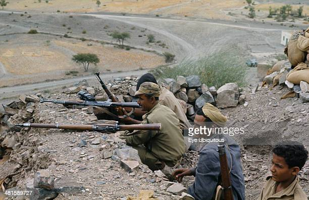 Yemen South War Soldiers in 19721979 War of the Yemans