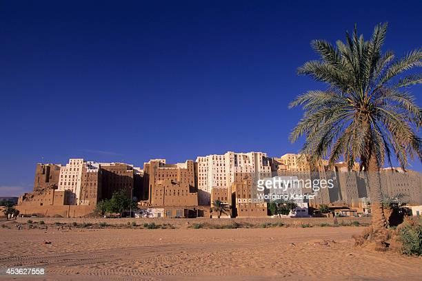 Yemen Wadi Hadramawt View Of Shibam 'Manhattan Of The Desert'