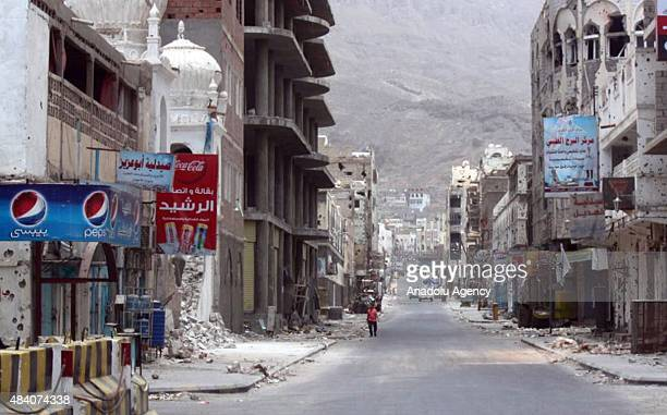 Yemen'de yönetim yanls Halk Direnii Güçleri'nin Ensarullah Hareketi'nin Ebyen'deki son kalesi 'Lavdar' ilçesinde de kontrolü salamasnn ardndan Aden...