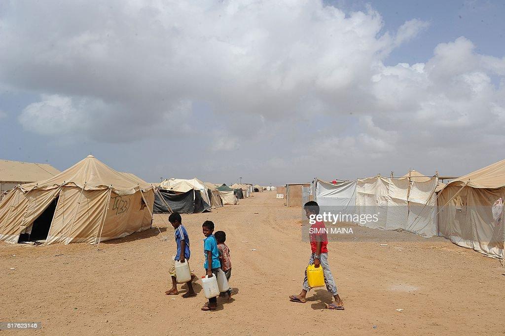 DJIBOUTI-YEMEN-REFUGEE : News Photo