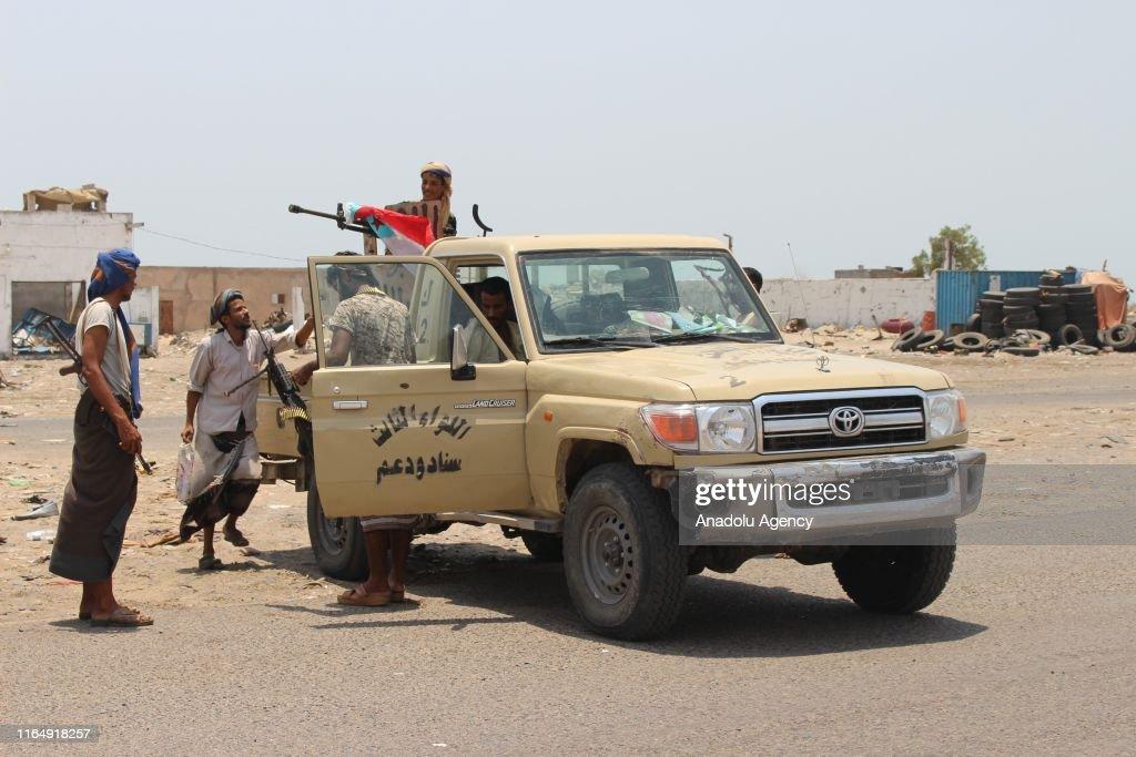 Conflict in Yemen : News Photo