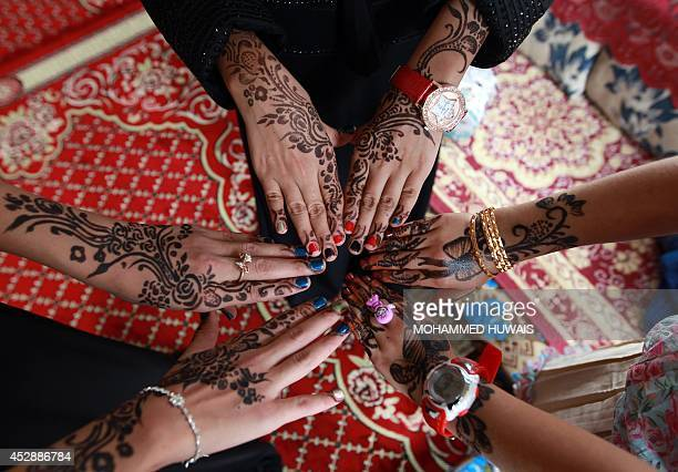 Eid Celebrations Mark The End Of Ramadan Stock Photos And Pictures