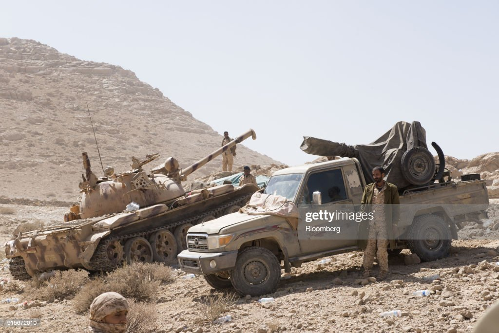 Saudi Forces Inch Forward in Yemen as Chaos Spreads Behind Lines : News Photo