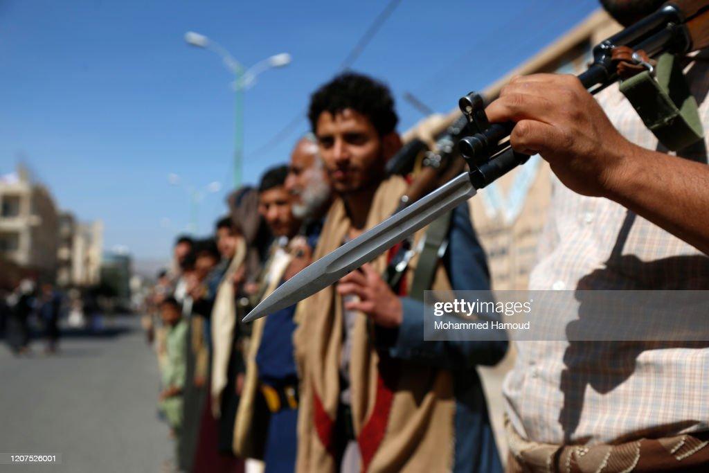 Houthi Tribal Gathering In Yemen 2020 : News Photo