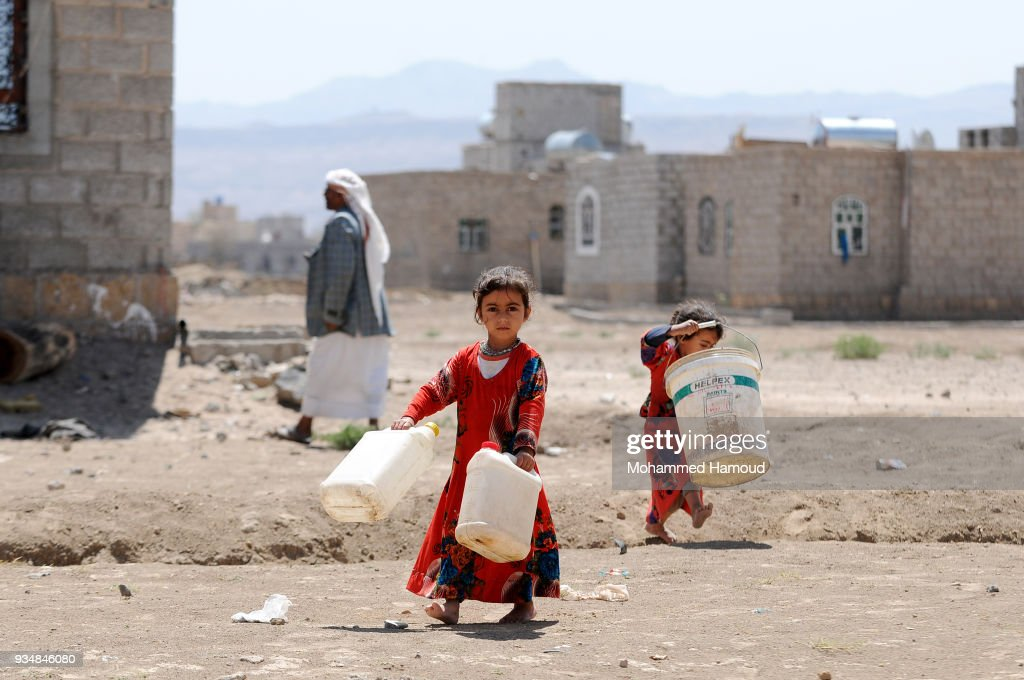 Clean Water In Short Supply In Sana'a
