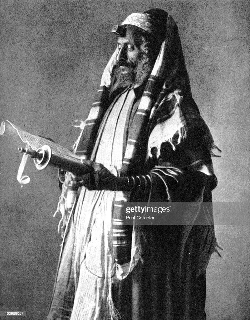 Yemeni orthodox Jew, 1914 (1936).Artist: Donald McLeish : News Photo