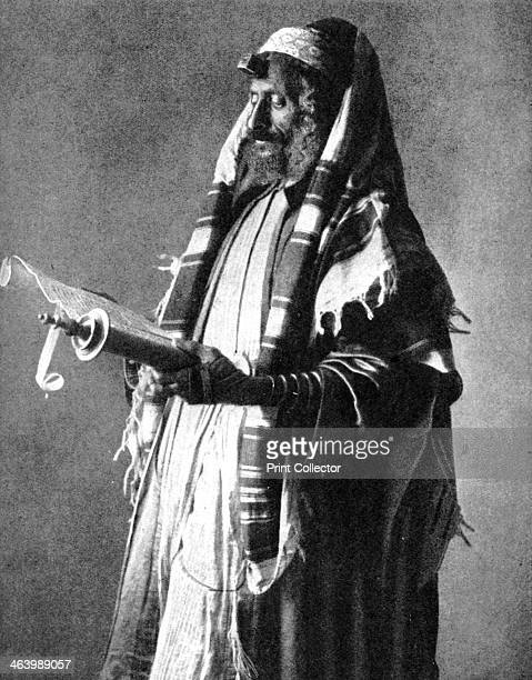 Yemeni orthodox Jew 1914 From Peoples of the World in Pictures edited by Harold Wheeler published by Odhams Press Ltd