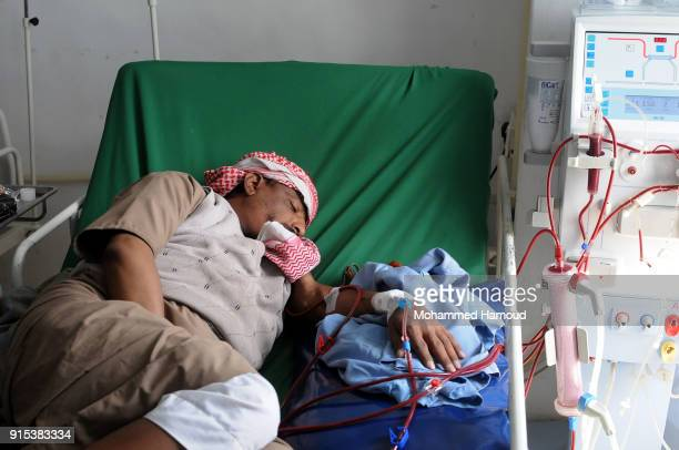 16 Kidney Dialysis Patients At Risk Due To War In Yemen Photos And Premium High Res Pictures Getty Images