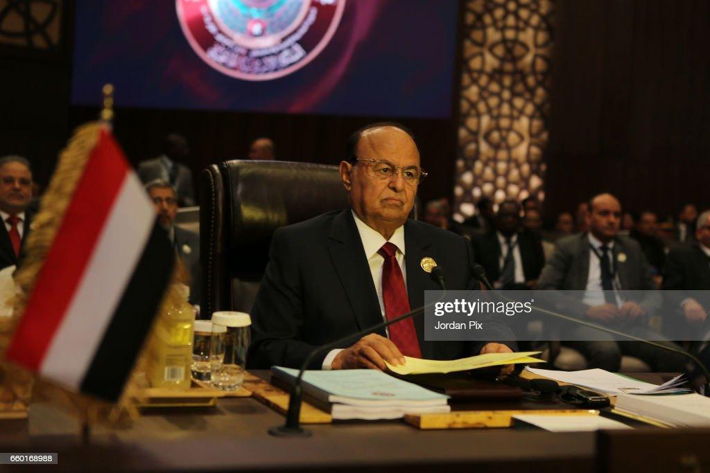 Arab League Summit Takes Place In Jordan : News Photo